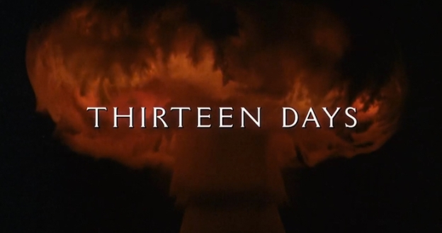 Thirteen Days title screen