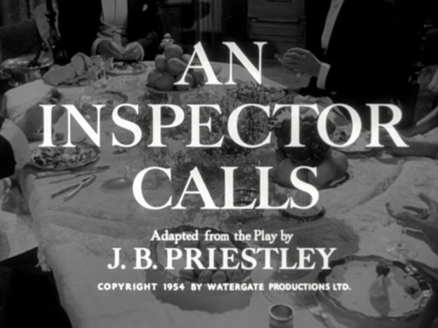 An Inspector Calls title screen