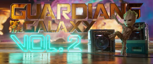 Guardians Of The Galaxy Vol. 2 title screen