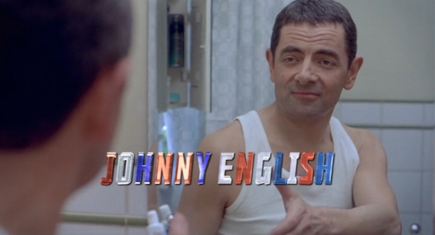 Johnny English title screen