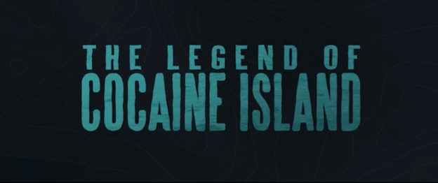 The Legend At Cocaine Island title screen