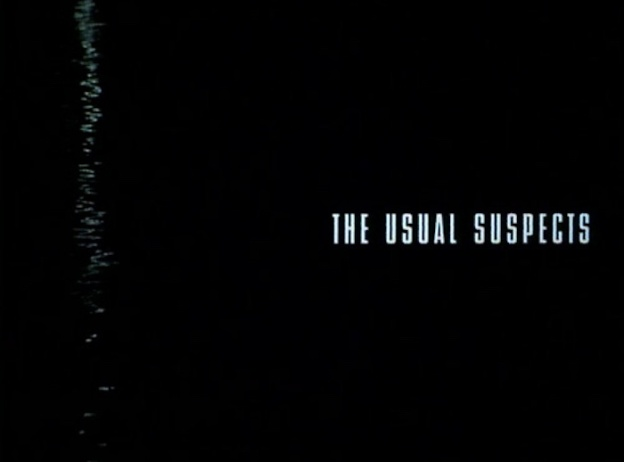 The Usual Suspects title screen