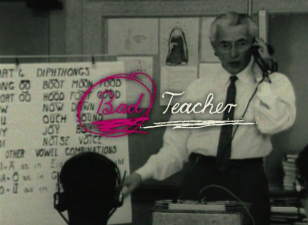 Bad Teacher title screen