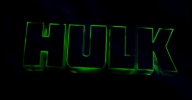 Hulk title screen