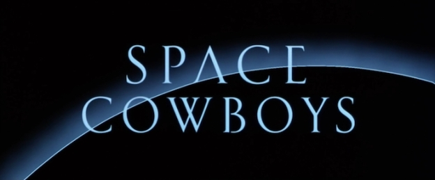 Space Cowboys title screen