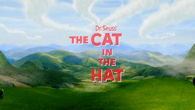 The Cat In The Hat title screen
