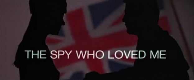 The Spy Who Loved Me title screen