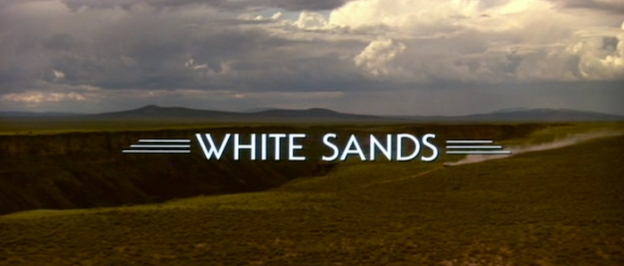 White Sands title screen