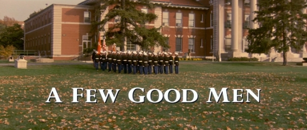 A Few Good Men title screen