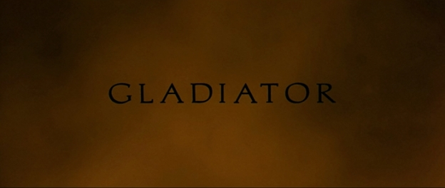 Gladiator title screen