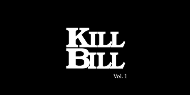 Kill Bill: Volume 1 title screen