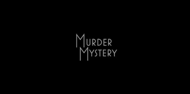 Murder Mystery title screen