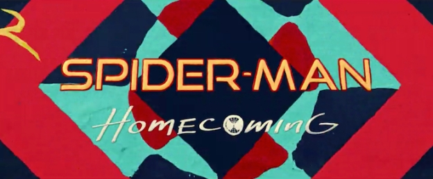 Spider-Man: Homecoming title screen
