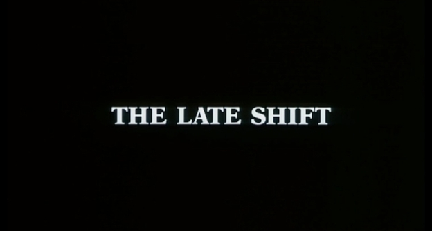 The Late Shift title screen