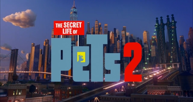 The Secret Life Of Pets 2 title screen