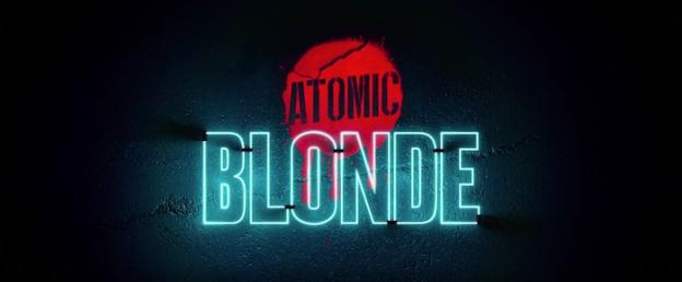Atomic Blonde title screen