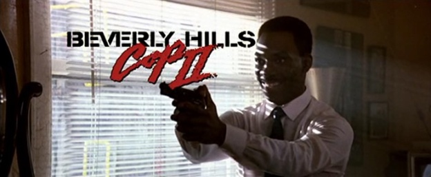 Beverly Hills Cop II title screen