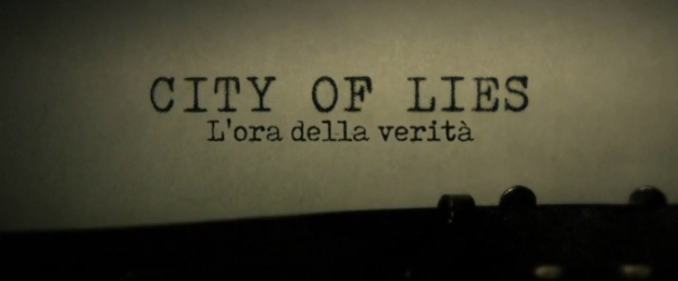 City Of Lies title screen