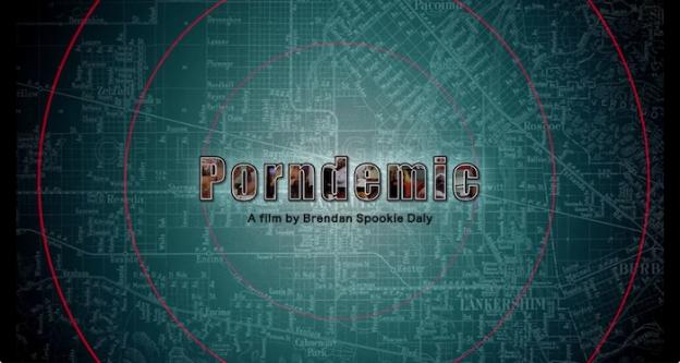 Porndemic title screen