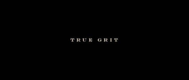 True Grit (2010) title screen