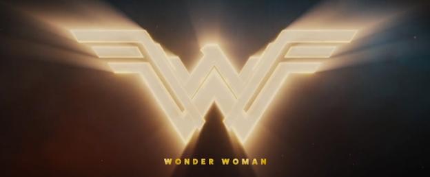 Wonder Woman title screen