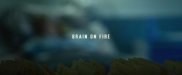 Brain On Fire title screen