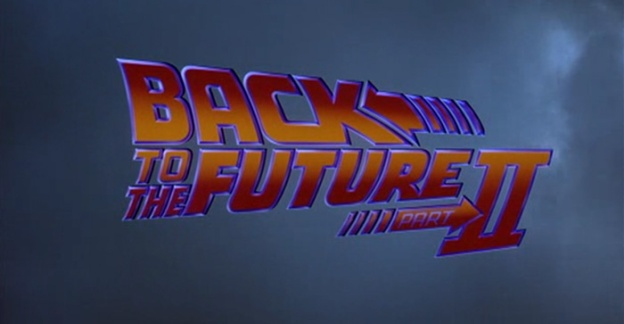 Back To The Future: Part II title screen