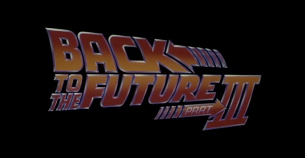 Back To The Future: Part III title screen