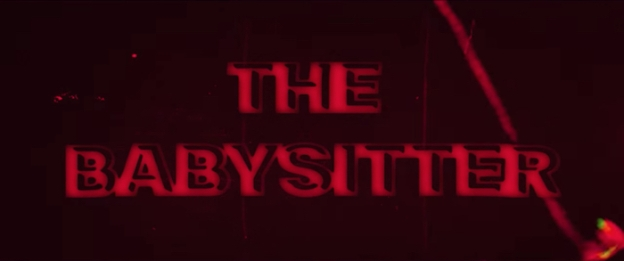The Babysitter title screen