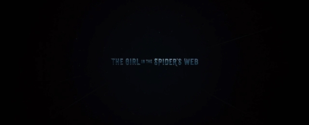 The Girl In The Spider's Web title screen