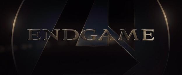 Avengers: Endgame title screen