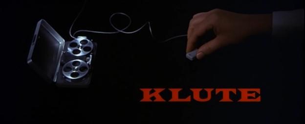 Klute title screen