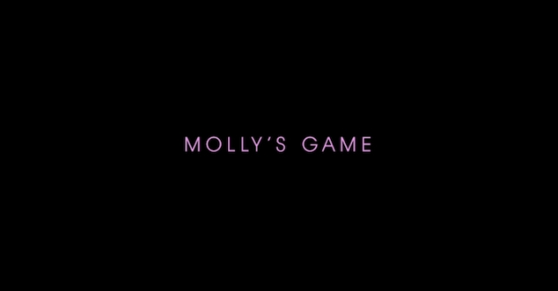 Molly's Game title screen