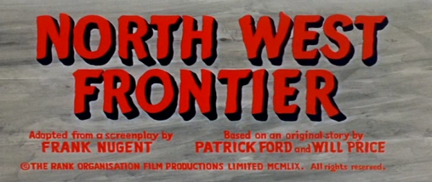 North West Frontier title screen