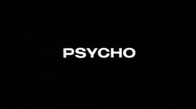 Psycho title screen