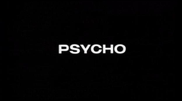 Psycho title screen