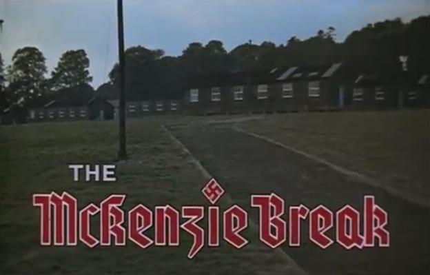 The McKenzie Break title screen