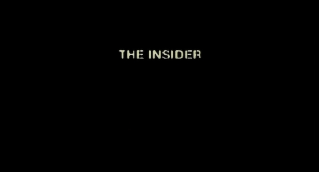 The Insider title screen