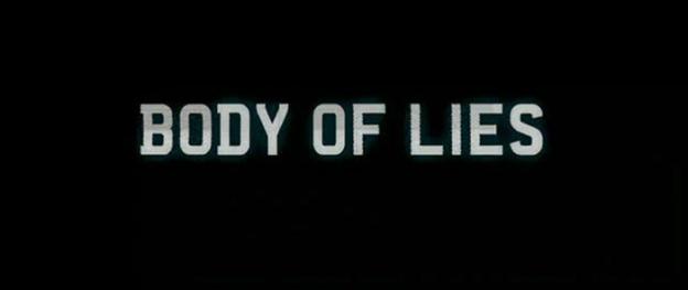 Body Of Lies title screen