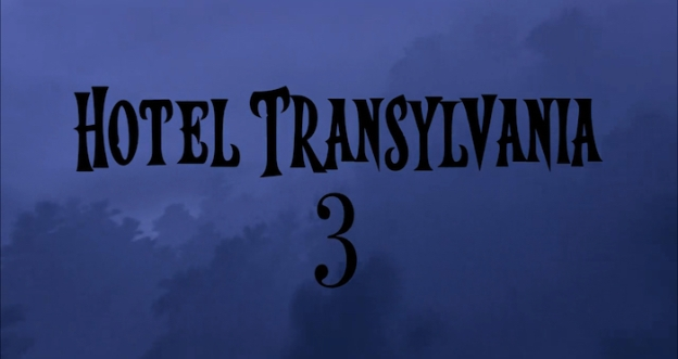 Hotel Transylvania 3: A Monster Vacation title screen