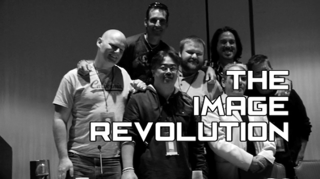 The Image Revolution title screen