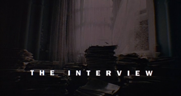 The Interview (1998) title screen
