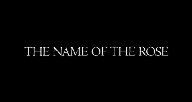 Name Of The Rose title screen