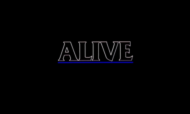 Alive title screen
