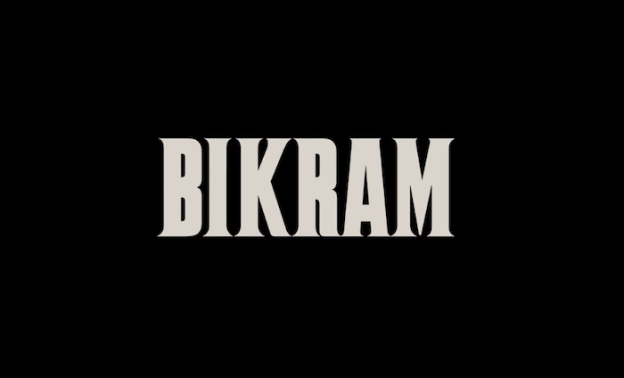 Bikram: Yogi, Guru, Predator title screen