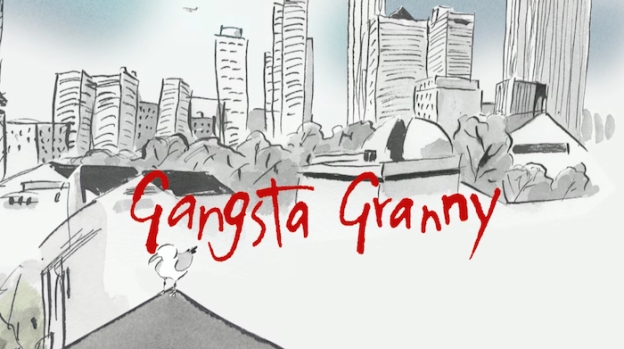 Gangsta Granny title screen