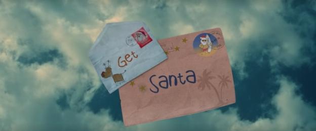 Get Santa title screen