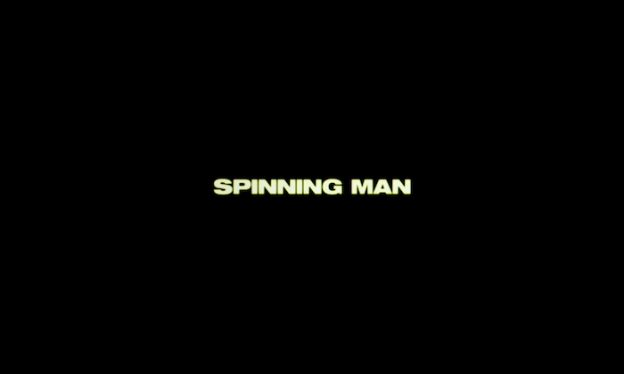 Spinning Man title screen