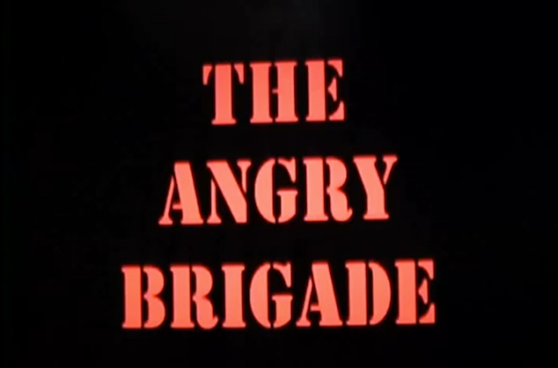 The Angry Brigade title screen