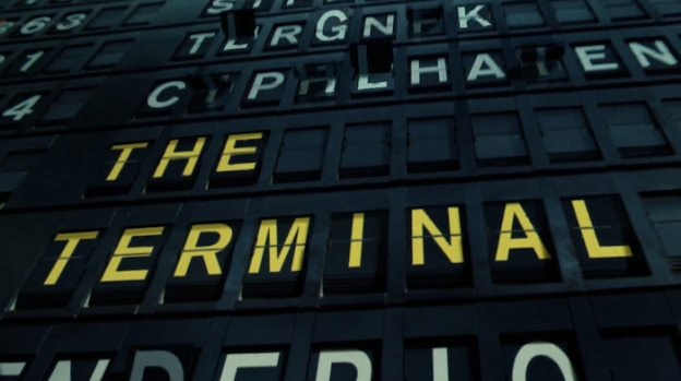 The Terminal title screen